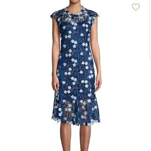 Eli Tahari NWT Florance Embroidery Party Dress